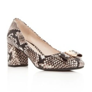 Cole Haan Women's Tali Bow  Block Pumps shoes